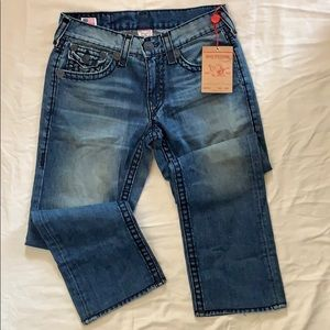 True Religion Ricky Super T Men Sz. 31/ Short Fuse